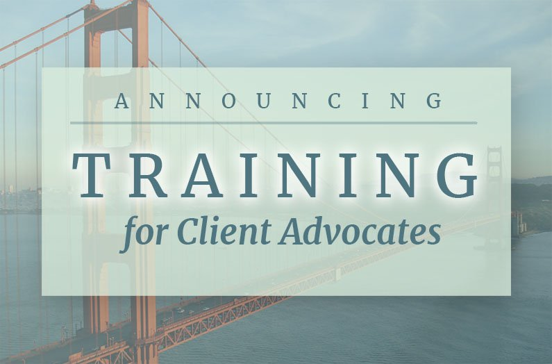 Upcoming San Francisco Volunteer Training Aug. 18