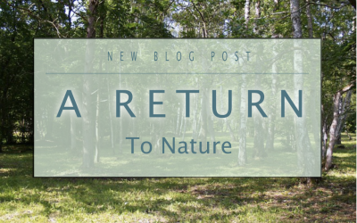 A Return To Nature