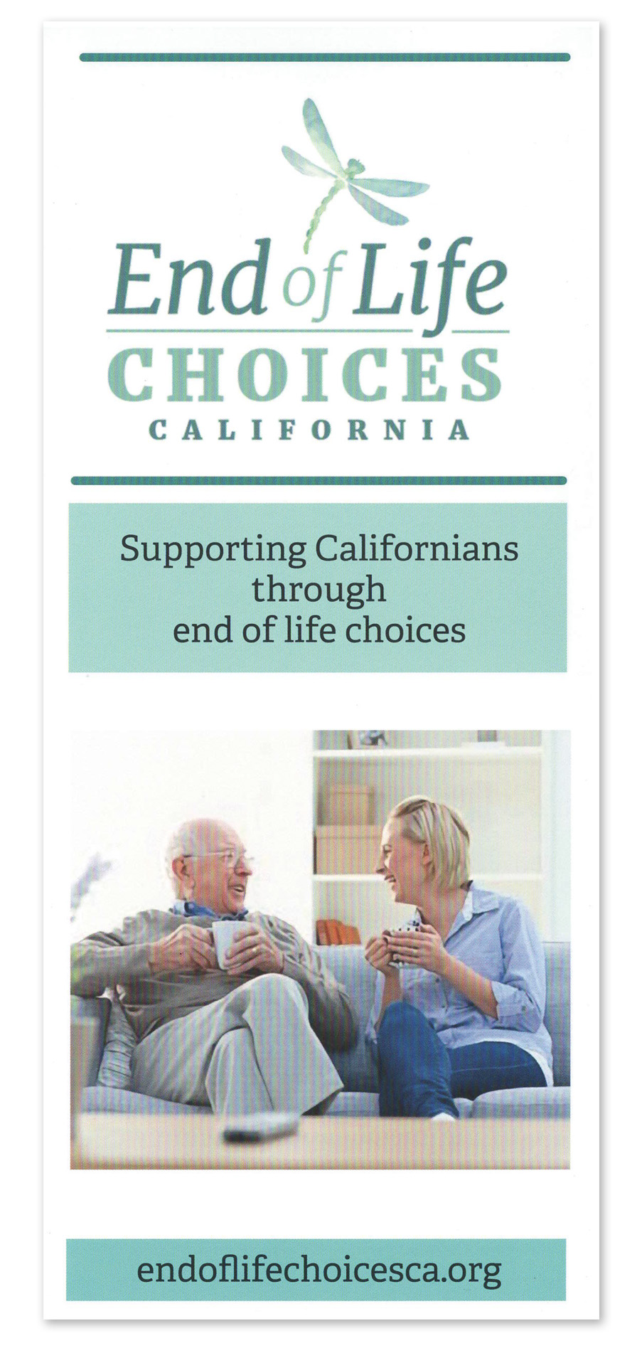 End of Life Choices California EOLCCA Brochure Donate!