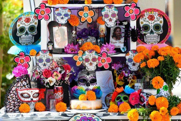 Dia de los Muertos Alter